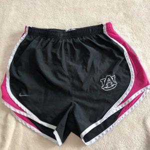Auburn University Nike Dri fit shorts